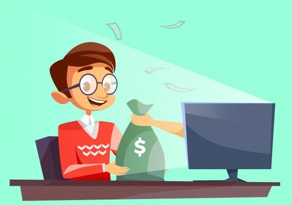 כסף באינטרנט פרסומות